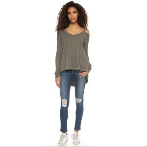Free People | Moonshine V Neck Sweater